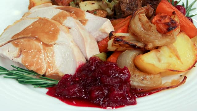 Port Cranberry Sauce with Star Anise