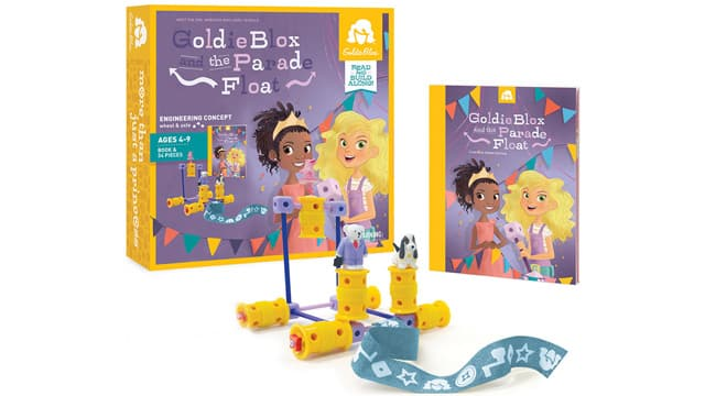 Goldie Blox breaks gender norms. This toy exposes young girls to the world of building and engineering.