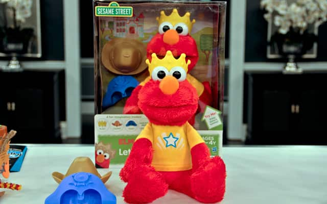 Let's Imagine Elmo is a great toy for your children have interactive play with.