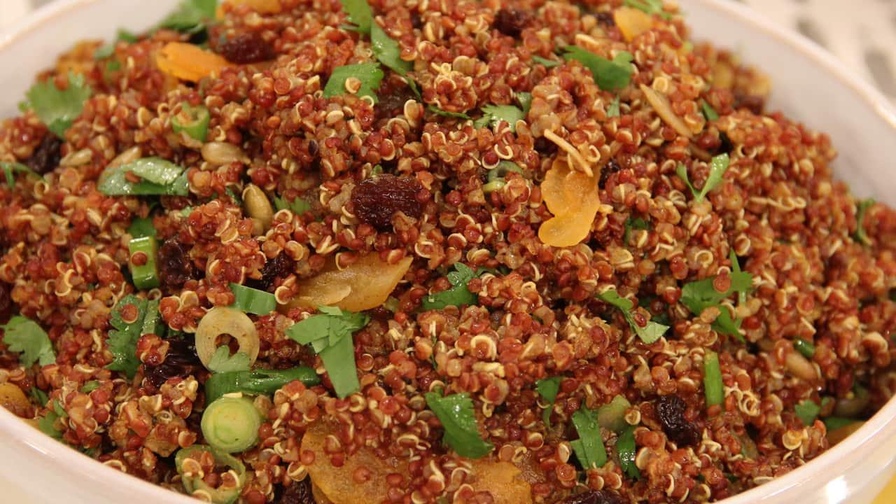 salad kaniwa