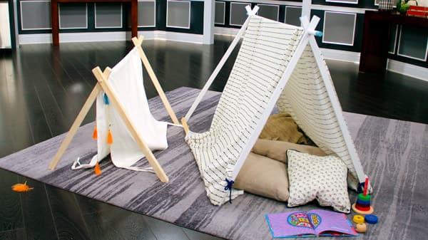 DIY Kids' Play Tent - Steven and Chris