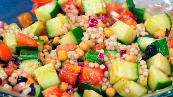 Dr. Ali's Middle Eastern Salad