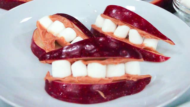 DIY Scary Halloween Teeth