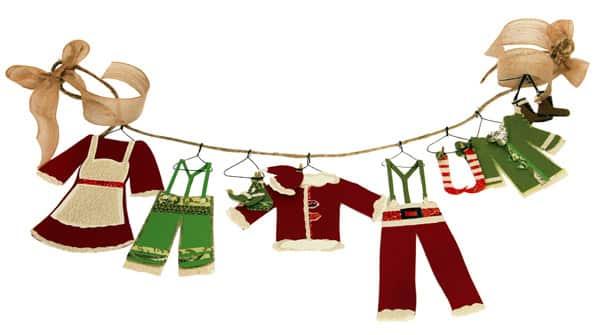 paper elf clothesline steven and chris