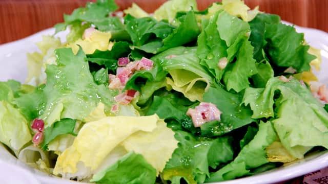 Escarole Salad by Chef Michael P. Clive