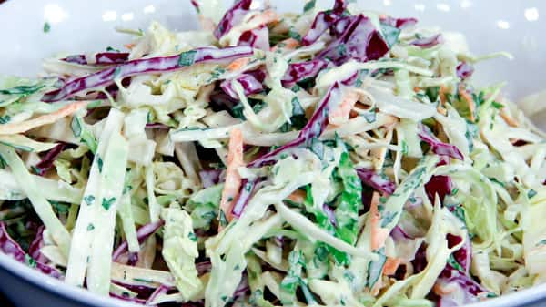 Foolproof Cabbage Slaw