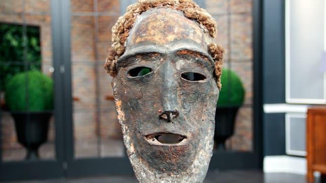 Skull From Guanantuna (Tolai) People, Gazelle Peninsula, New Britain 20c