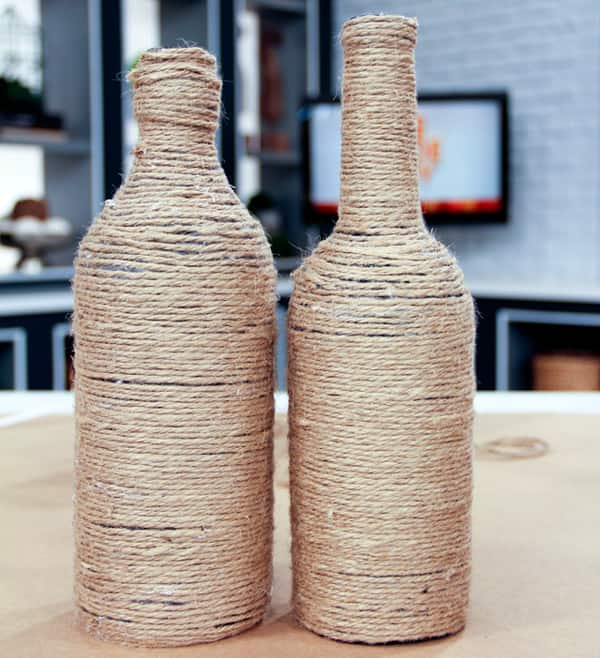 Twine-Wrapped Bottles