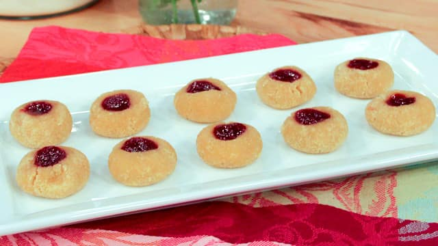Gluten-Free Raspberry Jam Cookies by Joy McCarthy
