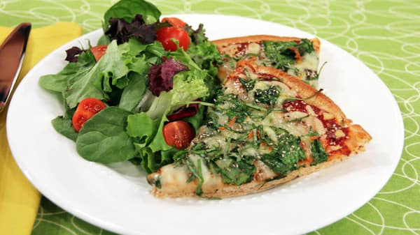 Healthy Weeknight Meals: Pizza