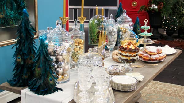 Hilary Farr's Holiday Dessert Table