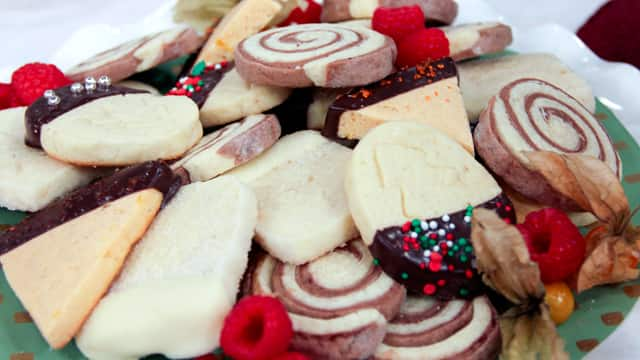 Holiday Icebox Cookies by Chef Kyla Eaglesham