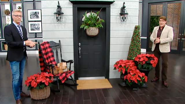 Rustic Holiday Doors