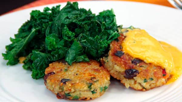 Joshna's Quinoa Salad Patties