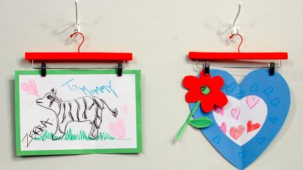 Kids' Art Walls