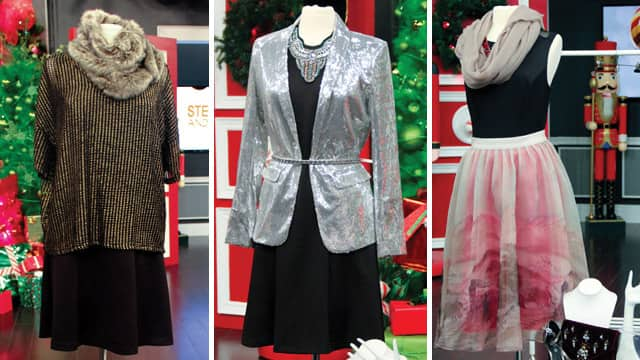 Three Ways to Wear the Little Black Dress