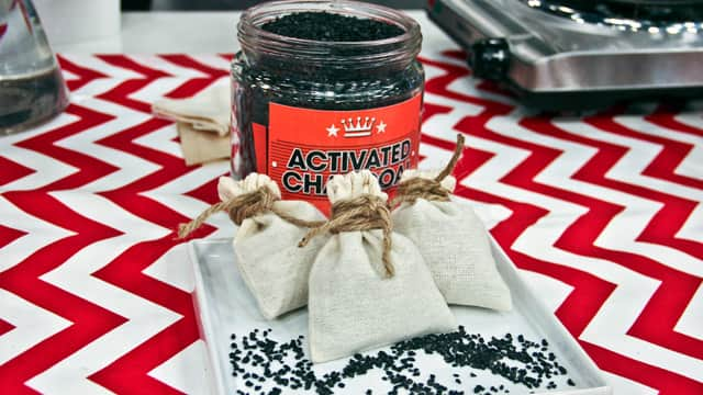 Make Your Own Charcoal Air Freshener