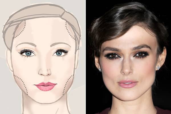 Peachy Makeup Tips For Every Face Shape Steven And Chris Schematic Wiring Diagrams Amerangerunnerswayorg