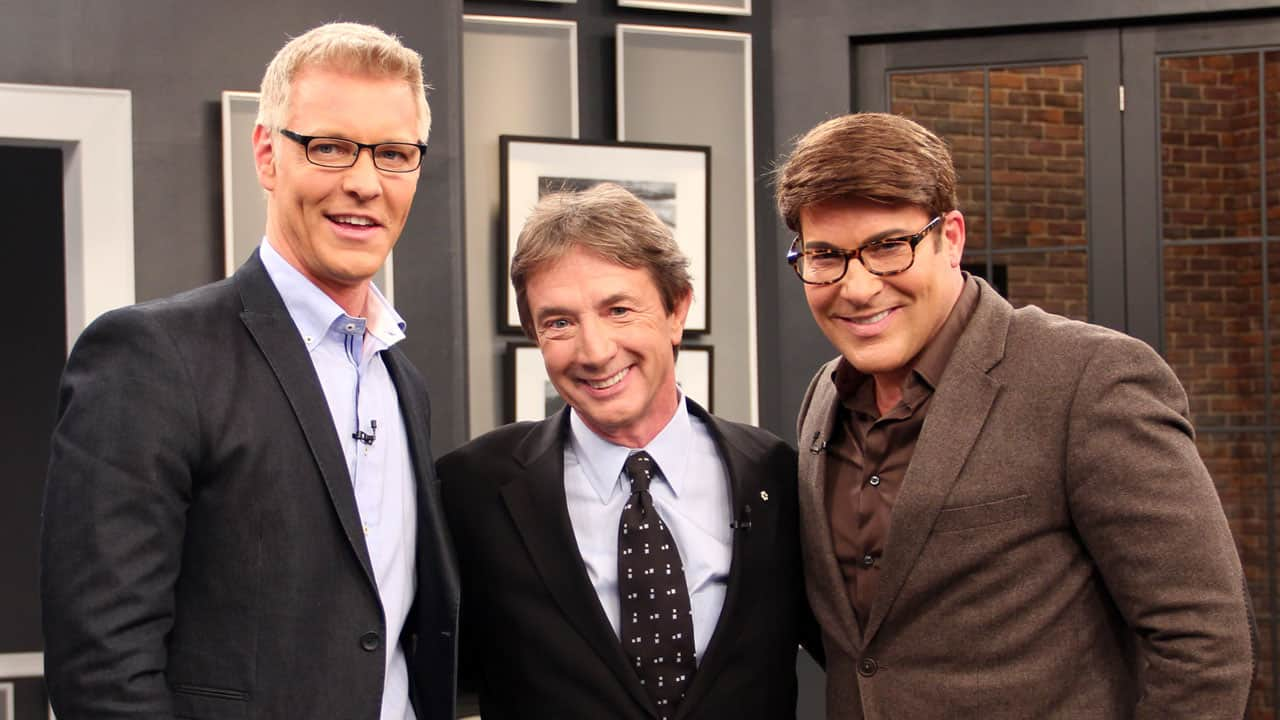 Martin Short with Steven and Chris