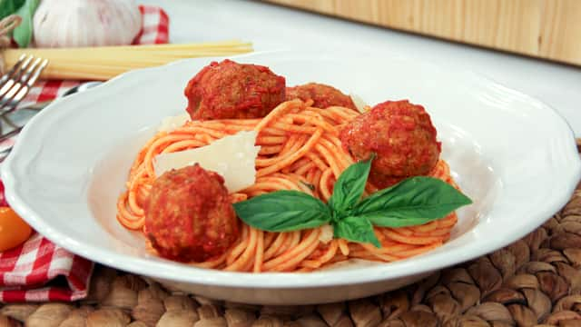 Mom's Spaghetti and Meatballs by Stefano Faita