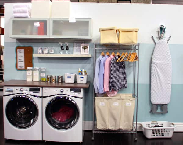 laundry room organization ikea