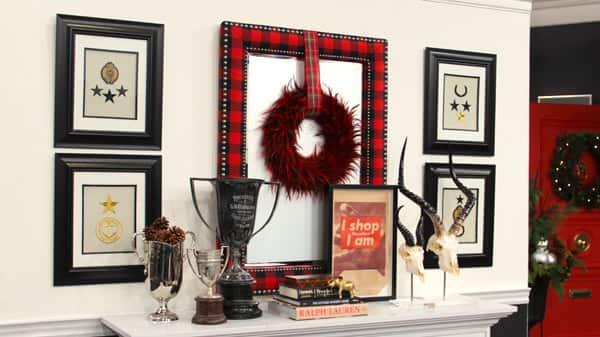 Tommy Smythe's Plaid Holiday Decor