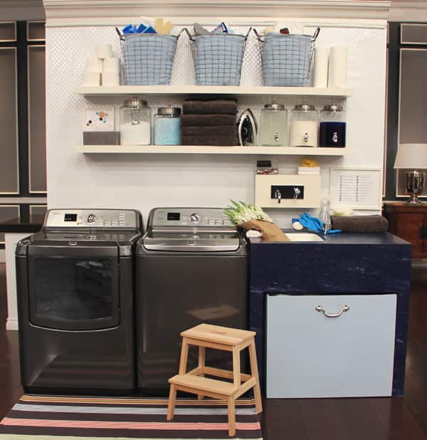 Pretty Practical Laundry Room Decor Steven and Chris