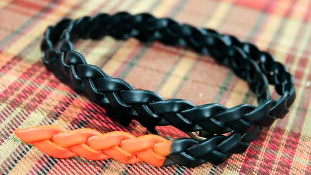 5 Ways to Repurpose Leather Belts: Bracelet