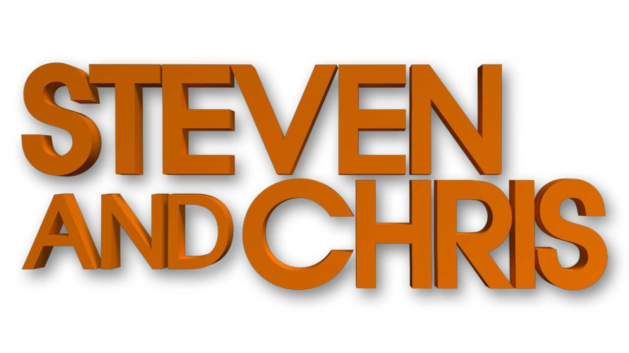 Logo of the Steven and Chris show