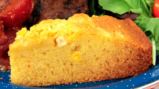Skillet Cornbread by Chef Jonathan Collins