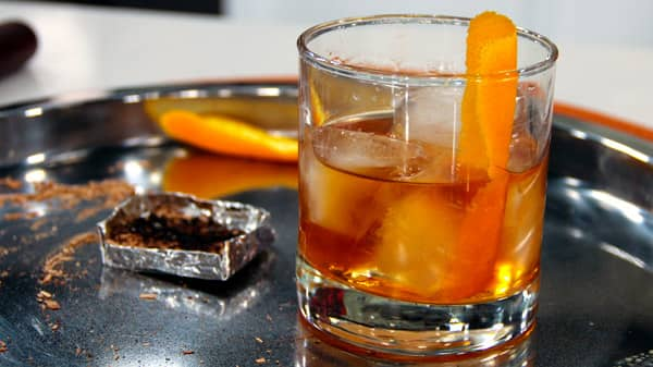 Smokin' Old Fashion Cocktail