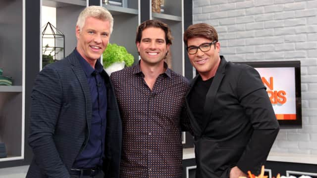 Scott McGillivray with Steven and Chris