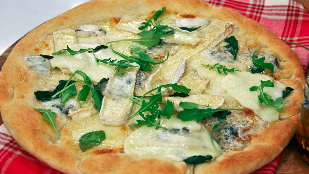 Image of Stefano Faita's 4-Cheese Pizza