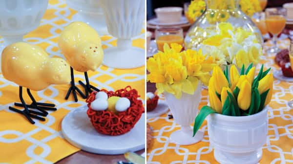 Sunny Spring Brunch Table