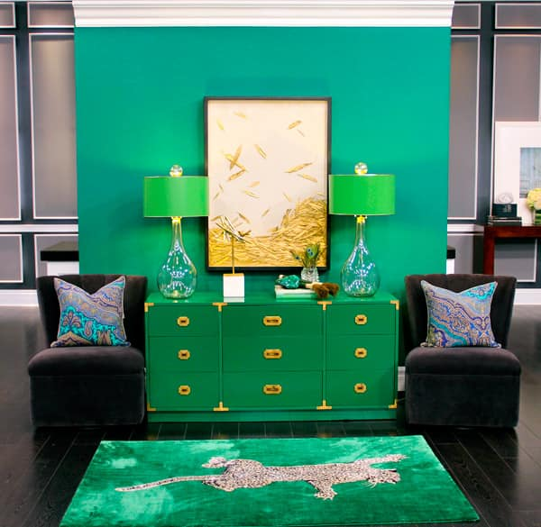 The Year's Hottest Colour: Emerald Green