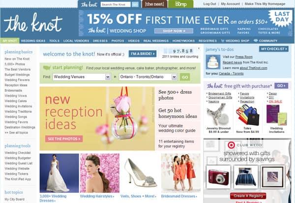 Best wedding planning sites steven and chris theknot1g junglespirit Choice Image