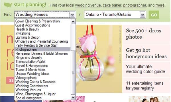 best wedding planning sites steven and chris