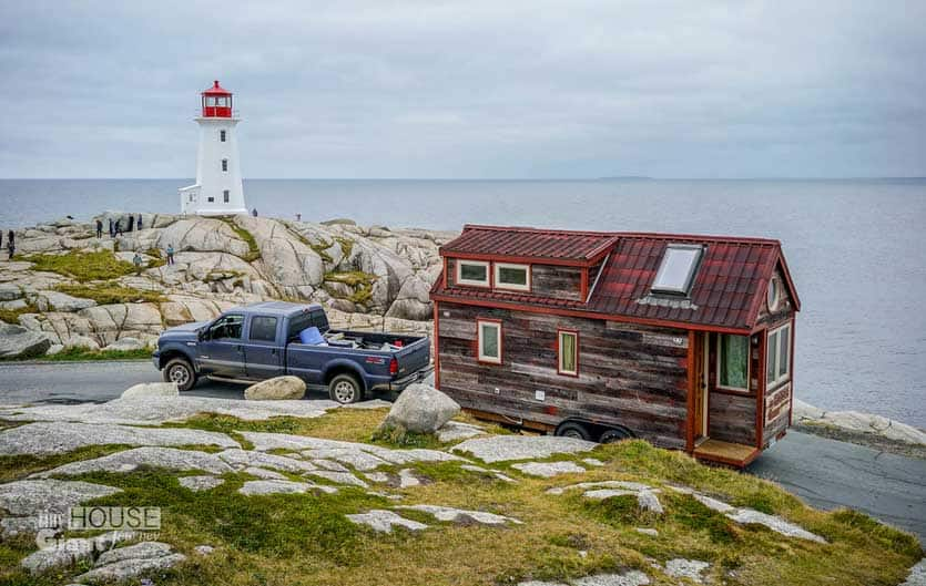 tiny house travel and lighthouse