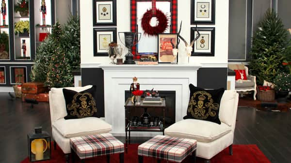 Tommy Smythe S Plaid Holiday Decor Steven And Chris Home Decorators Catalog Best Ideas of Home Decor and Design [homedecoratorscatalog.us]