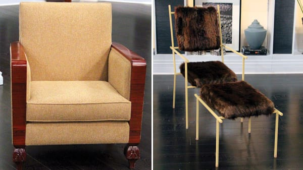 Vintage Lounge Chair, The Beaver Chair