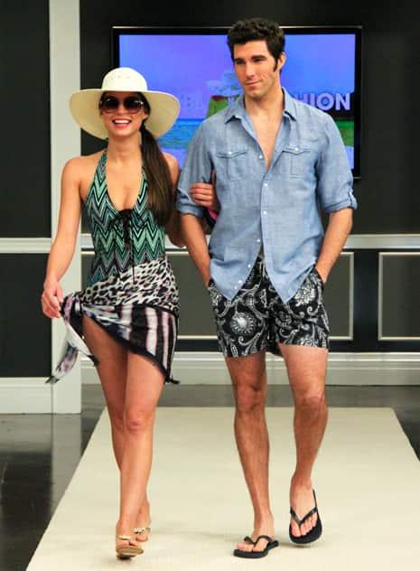 Tara Williams' favourite swimwear.