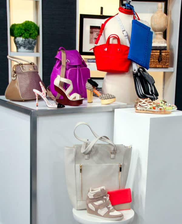 Trendy Hand Bags and Shoes for Daytime