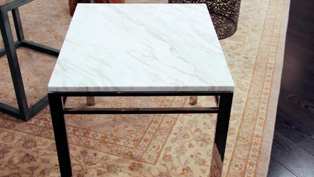 Trish Johnstons Top Side Tables Steven and Chris