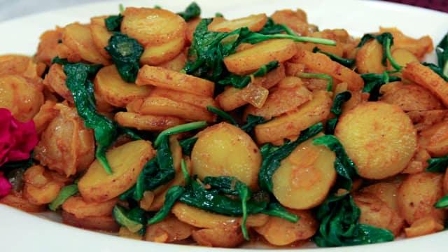 Tumeric New Potatoes by Chef Vikram Vij