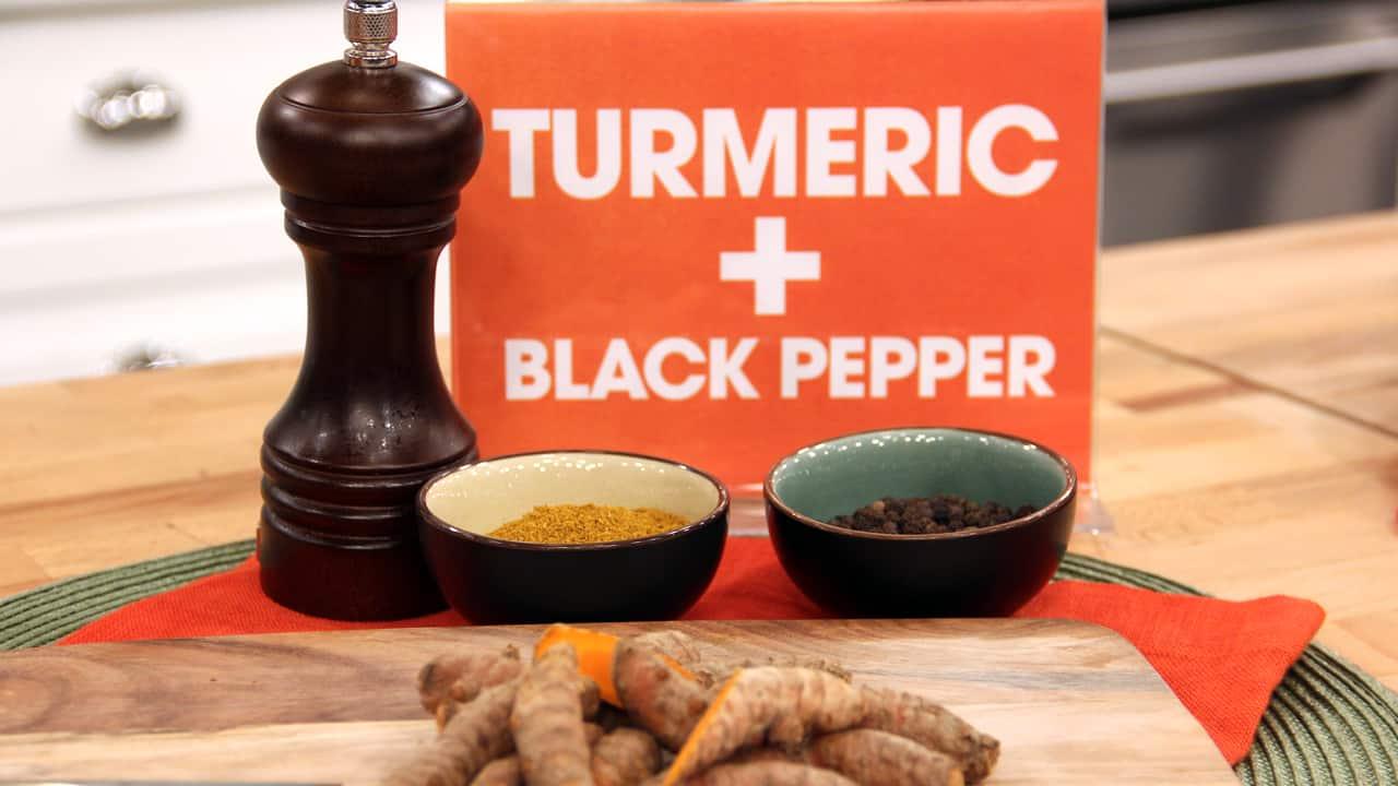 turmeric and black pepper