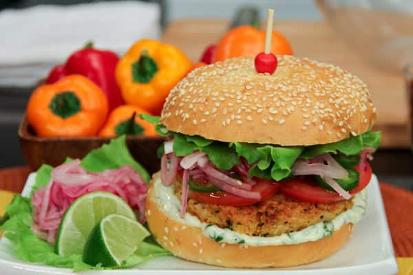 The Ultimate Veggie Burger - Steven and Chris