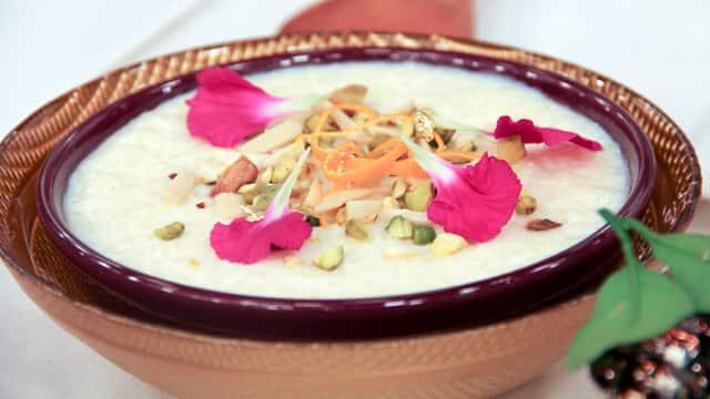 Rice Pudding by Vikram Vij