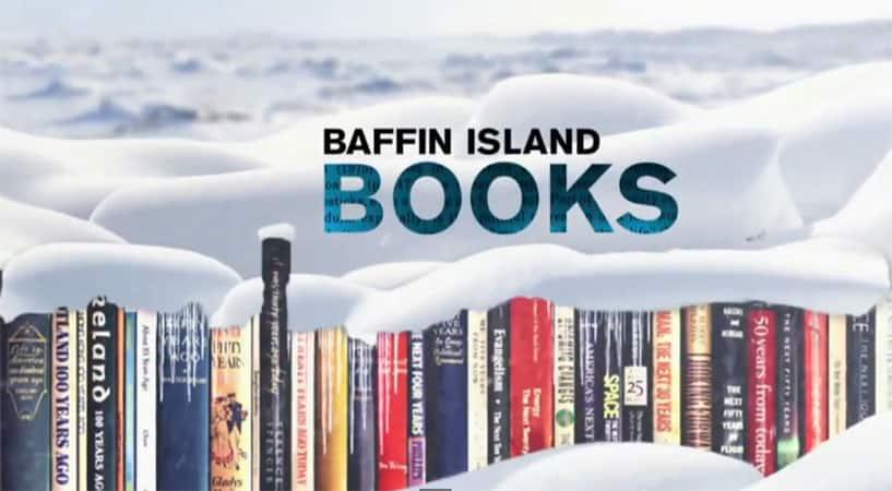Baffin Island Books With Malcolm Gladwell, Eric Schlosser, Marisha Pessl, Bill Bryson