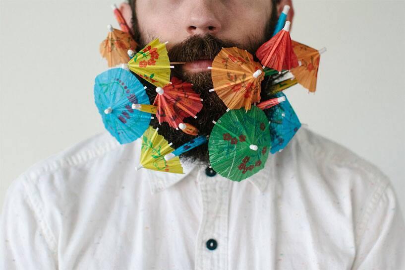 Beard and Umbrella