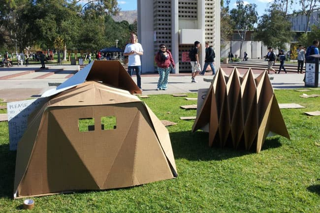 Homeless Shelter Pop Up : George stroumboulopoulos tonight these pop up structures